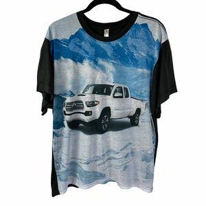 Toyota Tacoma T-shirt Size Large Graphic Print NEW